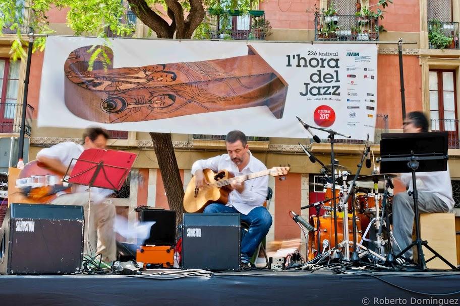 Jordi Bonell-Jordi Gaspar-Ramón Díaz a l'Hora del Jazz