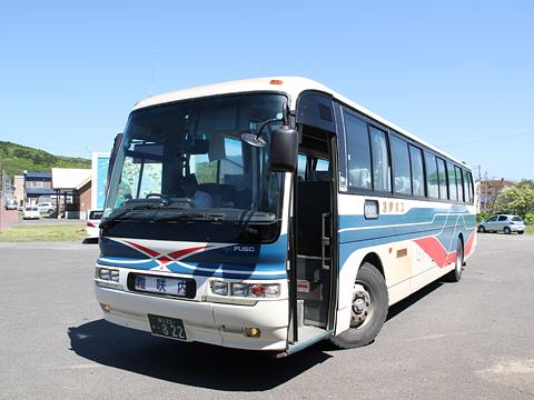 沿岸バス サロベツ線 ・822 豊富駅発車前