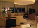 This was my suite in the Conrad Hotel in Miami.