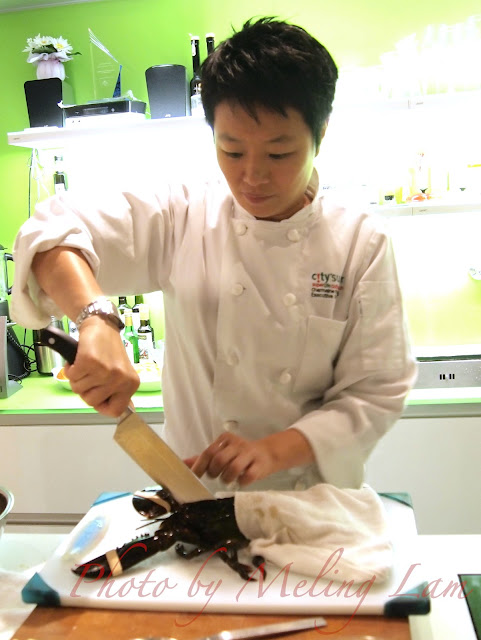 city'super cooking class lobster oyster 芝士白汁 龍蝦 焗蠔