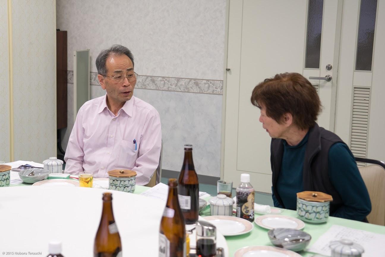 水谷俊夫さん(左) 森谷輝美さん(右)