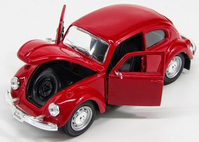 Hình ảnh tinh tế bắt mắt của chiếc Xe ô tô Volkswagen Beetle Maisto 31926 tỷ lệ 1/24