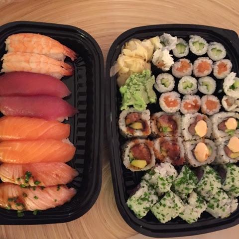 store nødder sushi Korsør