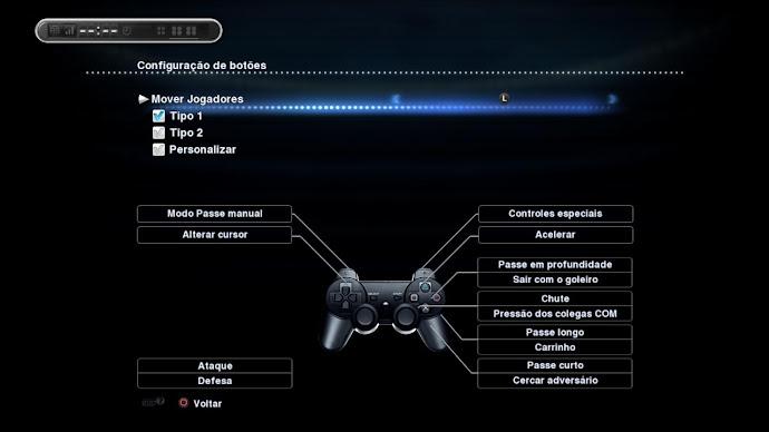 Gamepad PS3 - PES 2013
