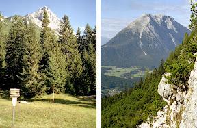 Ahrnplattenspitze zwischen Wetterstein und Karwendel