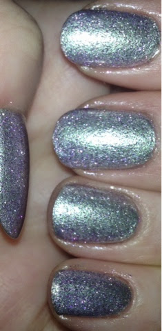 Orly's Lilac Glitter Polish