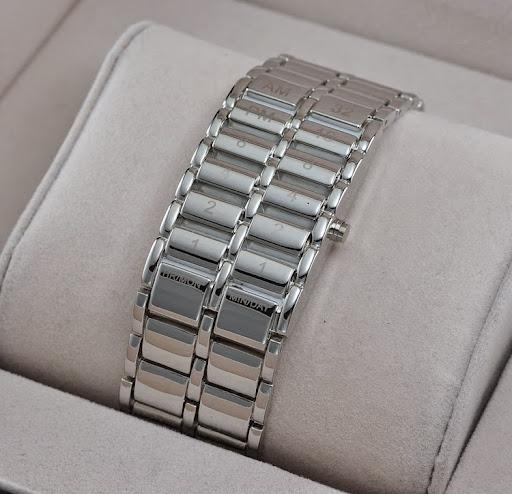 Fashion Men Full Steel Watch Digital LED Watches Lava M