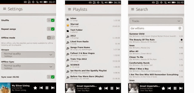 CuteSpotify, un scope que nos lleva Spotify a Ubuntu Touch