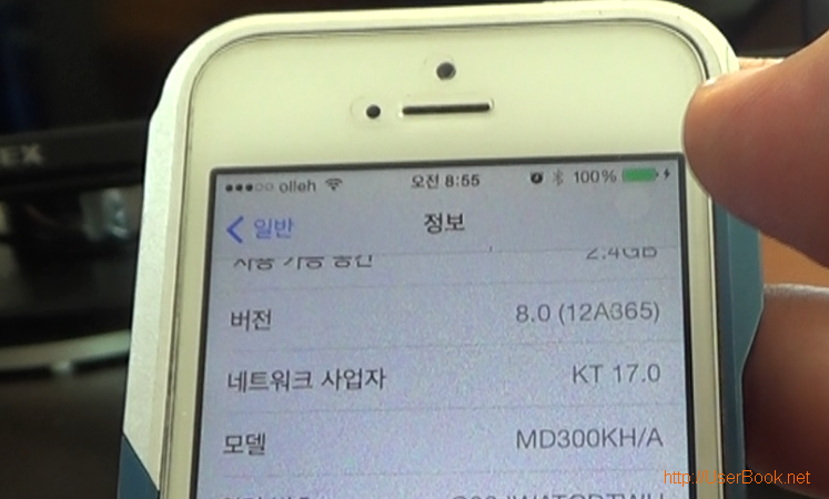 apple ios 버전 8.0 12a365