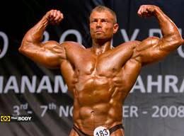 Dalibor Hajek - Men's IFBB World Championships 2008