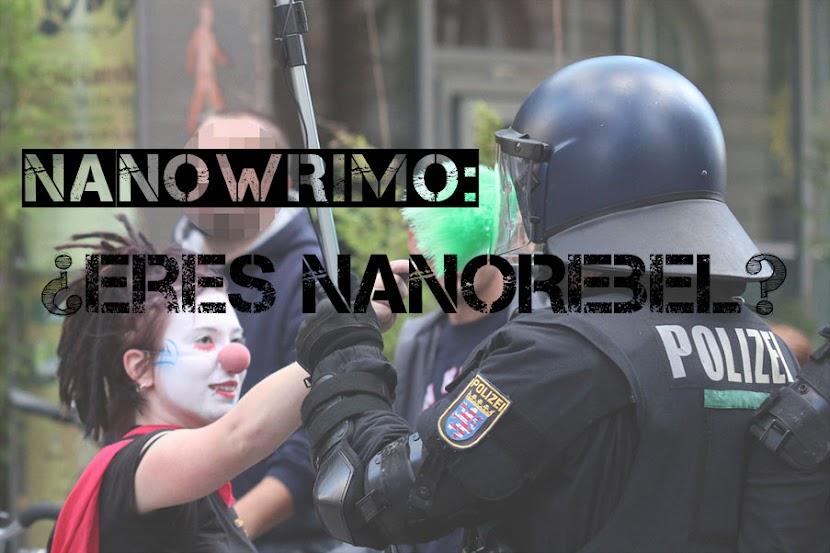 NaNoWriMo qué es un NaNorebel