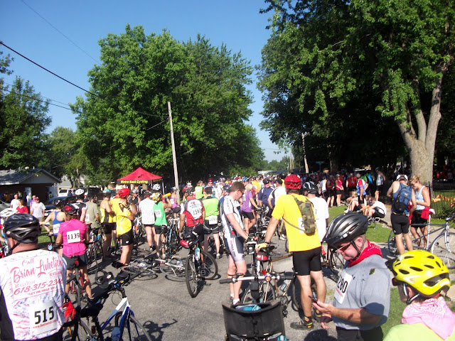 Tour De Donut Starting Line