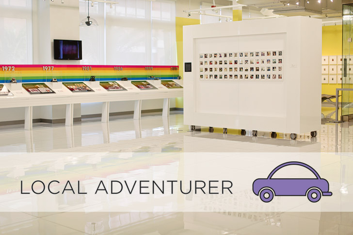Local Adventurer at the Polaroid Museum and Polaroid Fotobar Las Vegas.