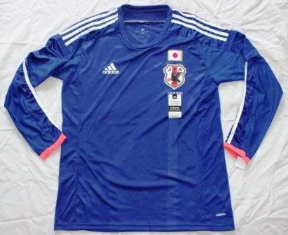 Jual Jersey Lengan Panjang Jepang Terbaru 2014