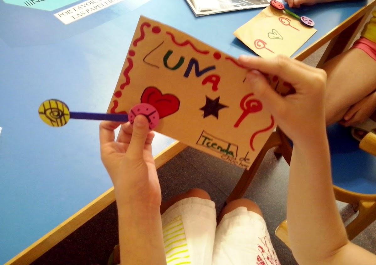 juego de magia en taller lectura