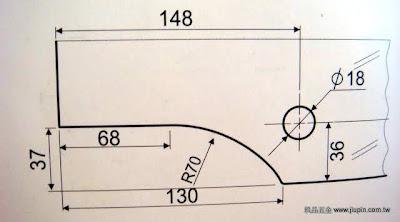 裝潢五金品名:CH800-雙鎖夾角(小型)圖表