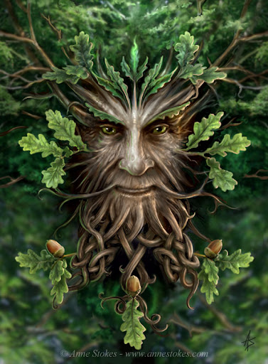 Winter Solstice Day 4 Of Yule The Gods Of Yule The Holly King And The Oak King Image