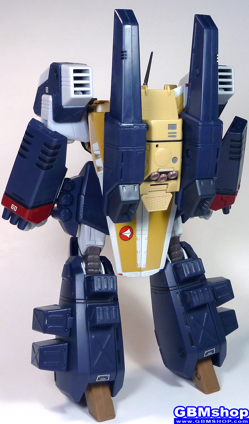 The Super Dimension Fortress Macross VF-1J GBP-1S Ground-combat protector weapon system Armored Valkyrie Mass Production Type Battroid Mode