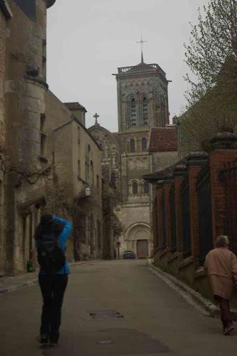 Vézelay : vers la basilique