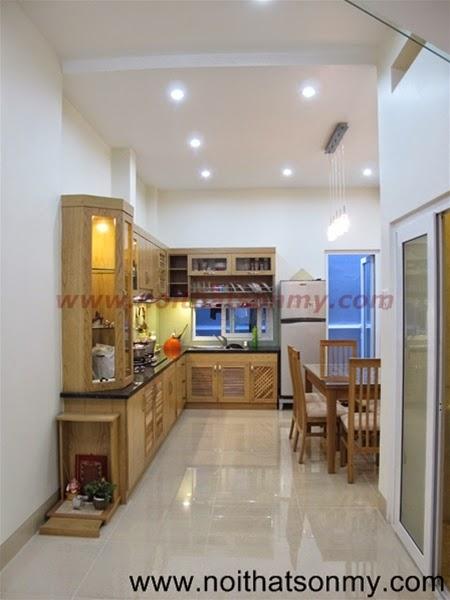 Kệ bếp gỗ 19