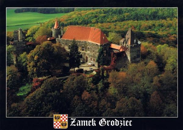 Pocztówka Zamek grodziec