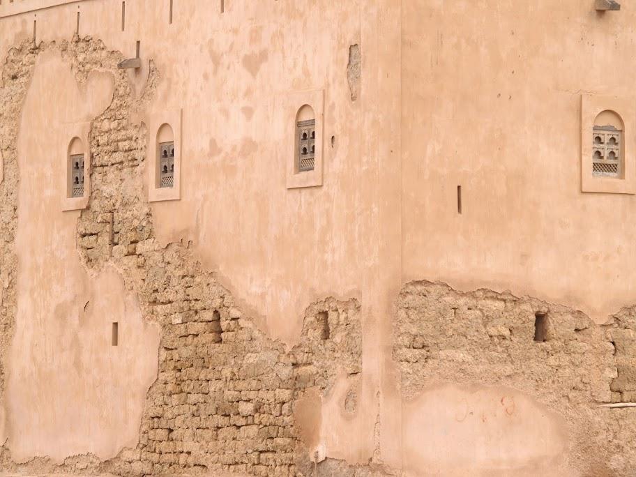 Old wall in Mirbat, Salalah