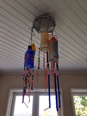 Beautiful Homemade Recycled Wind Chimes!