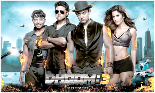 Dhoom 3 2013 Numerology Movie Review