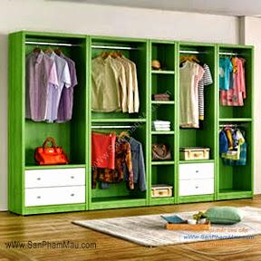 Sản xuất tủ áo gỗ công nghiệp