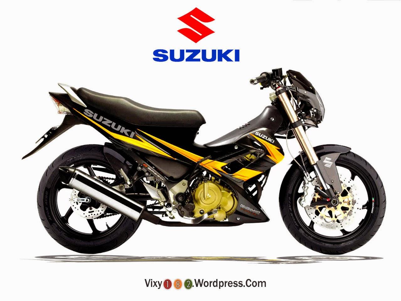 Foto Suzuki Satria Fu Modifikasi