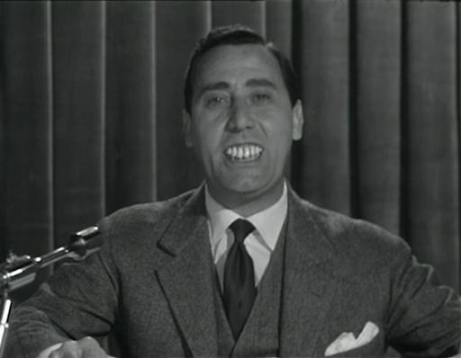 Alberto Sordi il Dentone della TV