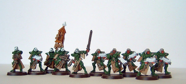 Sisters Of Battle. The Sisters have had a little