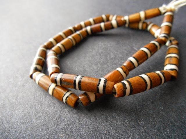 Bone Tube Beads