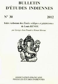 Bulletin d'études indiennes 30, 2012