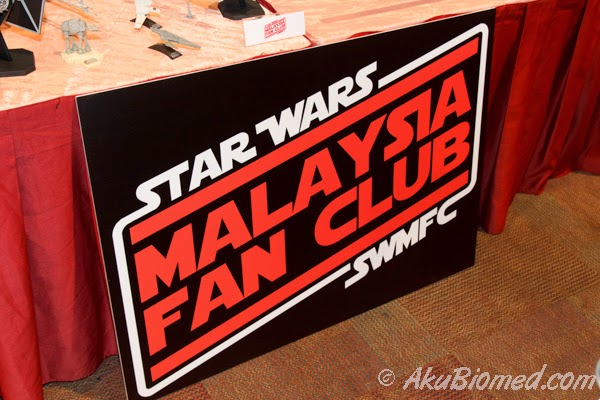 booth star wars fan club