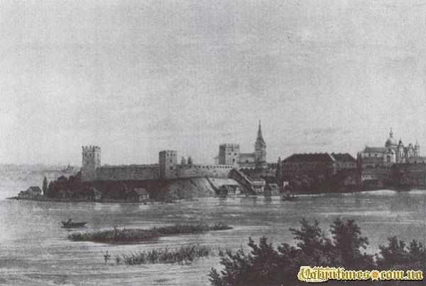 Гравюра Миколи Кулеші 1852 року