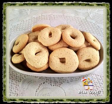 Biscoito de baunilha