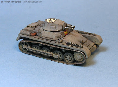 Panzer I A - right side