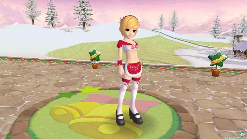 Nhìn lại trang phục Giáng sinh của Pangya Hàn Quốc - Ảnh 9