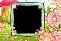 molduras-para-fotos-gratis-jardim-coracoes