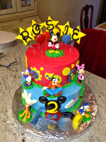 Awe Inspiring Joyce Gourmet Mickey Mouse Clubhouse Birthday Cake Personalised Birthday Cards Paralily Jamesorg
