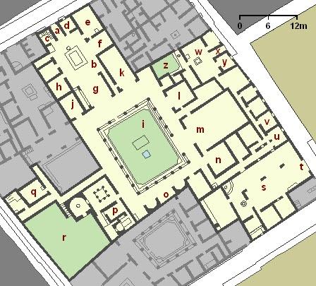 House of Menander AD79eruption