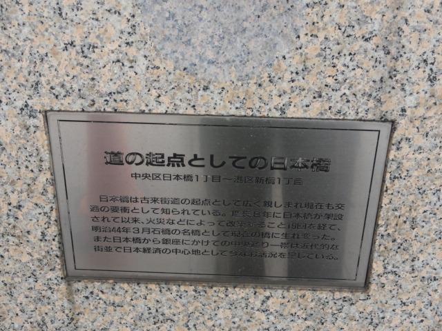 道の起点としての日本橋
