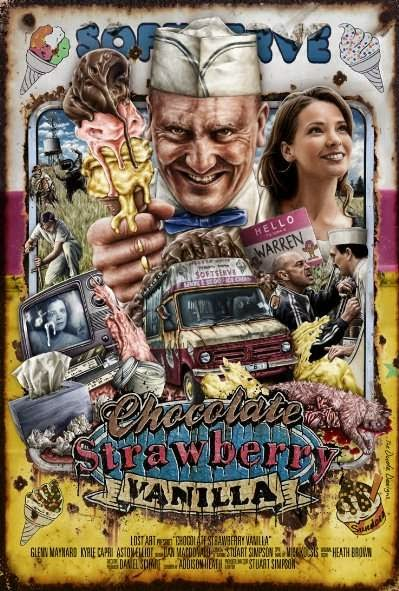 Poster Of English Movie Chocolate Strawberry Vanilla (2013) Free Download Full New Hollywood Movie Watch Online At Alldownloads4u.Com