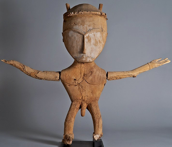 More Stuff: 'East of the Wallace Line: Monumental Art from Indonesia and New Guinea' at Yale University Art Gallery