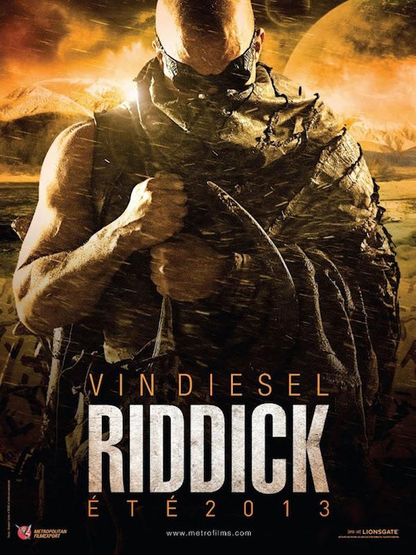 Riddick Teaser Poster France