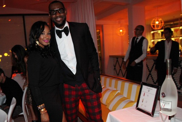 LeBron James Gets a Ring for His Queen Proposes in Jordan III8217s