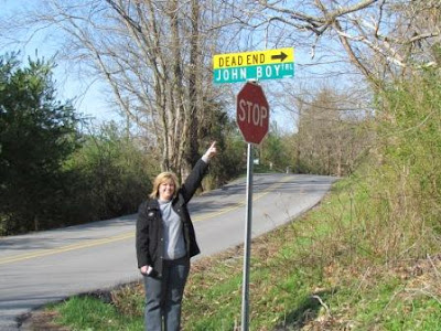 finding john boy road