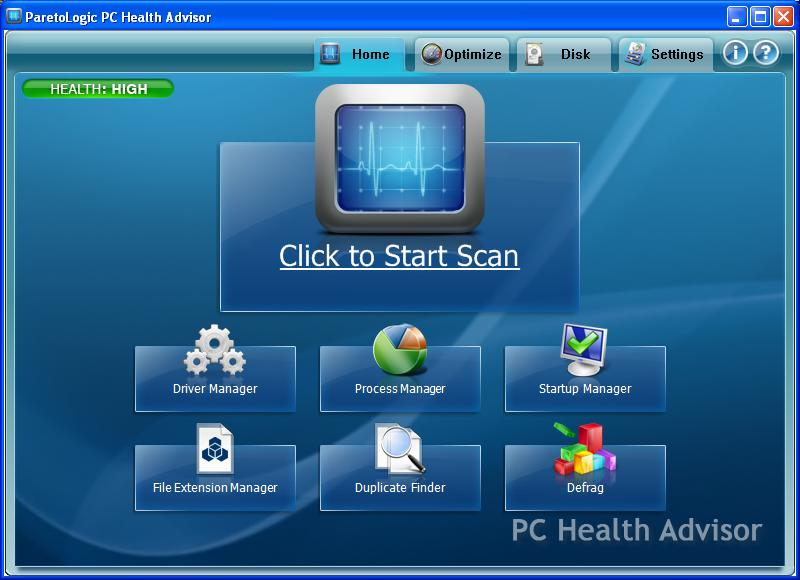ParetoLogic PC Health Advisor 04