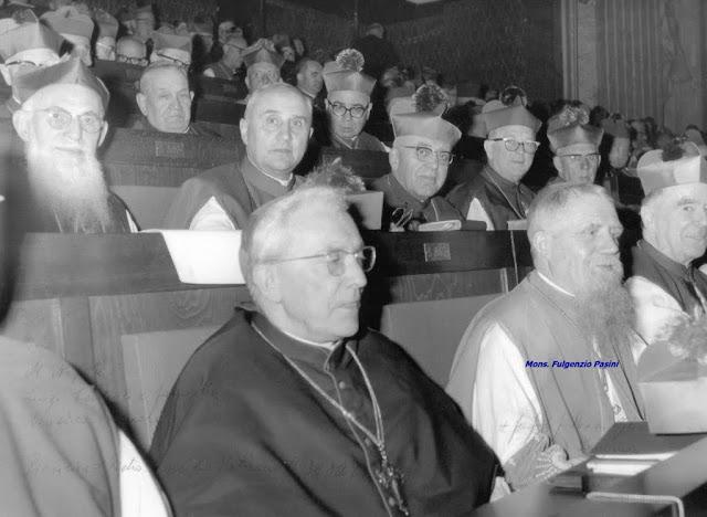 Mons. Pasini al Concilio